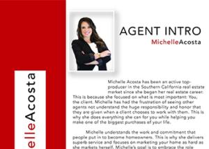 Agent Intro Flyer